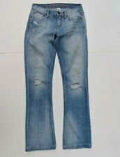 Ezra Fitch Womens 27 Jeans Boot Cut Distressed Mid Rise Abercrombie & Fitch