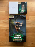 Star wars episode 1 preview action figures: STAP and Battle Droid, Mace Windu