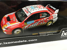 MITSUBISHI L.Evo IX #33 Sweden 08 dirty effect IXO RALLY 1:43 DIECAST-CAR RAM319