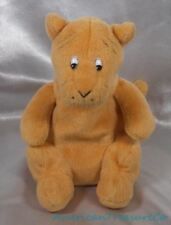 "Gund Disney Classic Pooh Plush Beanie 8"" Soft Peach Orange Tigger Tiger Friend"