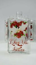 Personalized Custom Crystal Glass perfume Bottle 3D Laser Etched Engraving