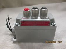 CROUSE HINDS 3EBX  EXPLOSION PROOF PUSH BUTTON SWITCH STATION