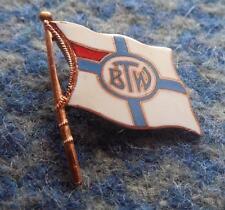 BTW BYDGOSZCZ POLAND ROWING CLUB 1960's  RARE ENAMEL PIN BADGE