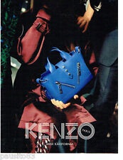 PUBLICITE ADVERTISING 1016  2015   le sac Mini Kalifornia  par Kenzo 3