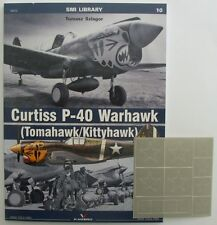 Curtiss P-40 Warhawk (Tomahawk/Kittyhawk) + masking foil ENGLISH