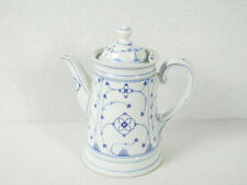 Indisch Blau Strohblume Kaffeekanne Moschendorf Bavaria    (91)