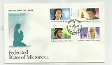 Micronesia - 1st Day Cover - Scott# 58, C31-C33  4 on 1 cover stk#x17