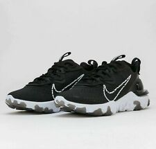 Nike React Vision Black White CD4373-006 Mens Running Shoes Sneakers