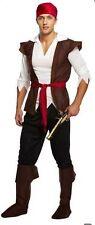 Para Hombre Baratos Caribbean Pirate Piratas del Disfraz de Halloween vestido de lujo u00336