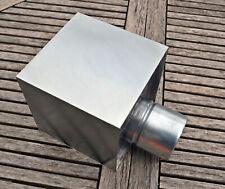 Boite à eau  200 x 200 zinc naturel ø 80 ou 100 mm NEUF gouttière