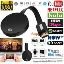 Chromecast 4ème génération 1080p HD 2 HDMI Media Video Digital Dongle Streamer