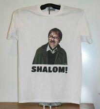 SHALOM! - Friday Night Dinner Jim T-Shirt  Medium, White