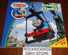 THOMAS & FRIENDS - CREAKY CRANKY BOOK (BRAND NEW)