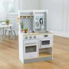 Kidkraft Let's Cook Wooden Play Kitchen | Kids Wooden Toy Kitchen