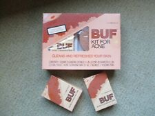 Vintage BUF Cleansing Kit unopened 3M Riker plus 2 bars of BUF cleansing soap