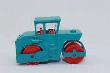 Wiking 065005 Rouleau Compresseur ( Abg ) - Bleu Eau 1:87 H0 Neuf Emballage