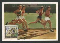 RUSSIA MK 1960 OLYMPIA OLYMPICS MAXIMUMKARTE CARTE MAXIMUM CARD MC CM d8535