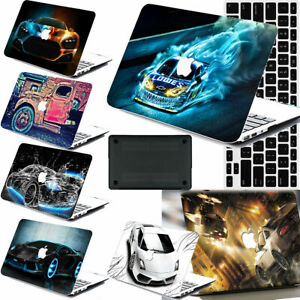 Car Skin Painted Rubberized Matte Hard Cut Out Case KB Cover For Macbook Pro Air
