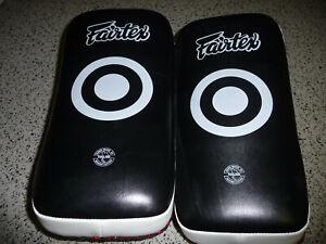 Fairtex Curved Muay Thai Kick Boxing Kicking Pads KPLC - in USA