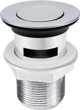 Ablaufgarnitur Pop Up Abfluss Ablauf Ventil Waschbecken Stöpsel Waschtisch