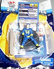 "VICTOR HEDMAN Team Sweden 2.5"" World Cup of Hockey Imports Dragon NHL Toy LOOSE"
