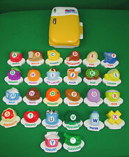 VTECH ABC Food Fun Magnetic Fridge Alphabet Learning Toy & 26 Letters RARE