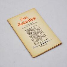 Das Gottes Kind - ein Weihnachtsspiel (Emil Alfred Herrmann) Reclam 7808 (1953)