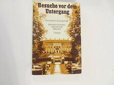 Besuche Vor Dem Untergang Alvensleben Koenigswald Hbdj vintage 1968