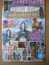 DOCTOR WHO ADVENTURES ISSUE No 11 WITH FREE GIFTS HUGE POSTERS & STICKERS