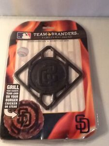 MLB Cast Iron Team Branders SD San Diego Padres Single Brander Pangea Brands New