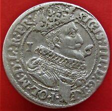 Silver Coin Ort, 18 Grischen. 1625. Poland-Danzig, Sigismund III (1587-1632)