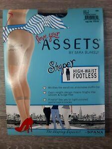 SPANX Love Your Assets High-Waist Footless Shaper, Black, Size 1, BNWT, 268B