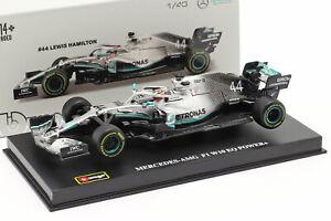 BBurago Mercedes F1 W10 EQ Power+ F1 2019 - 18-38049 - 1:43 - #44 Lewis Hamilton