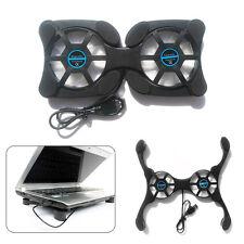 USB Mini Octopus Laptop Fan Cooler Cooling Pad Folding Coller Fan Black GYTH