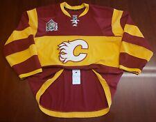 Calgary Flames Reebok Edge Authentic Heritage Jersey