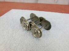 4-AXLES / 2-PAIRS / METAL WHEEL SETS AND AXLES / Best Price on eBay! (No.10)