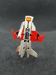 Remco Vintage Zybots F-16 Fighter Plane Transformer Robot Series 6 1984