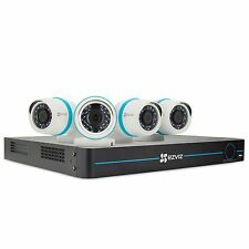 EZVIZ 8-Channel 1080p HD IP NVR Security System with 2 TB Hard Drive, 4 1080p IP