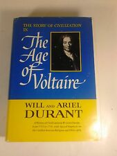 The Story of Civilization IX- The Age of Voltaire by Will and Ariel Durant