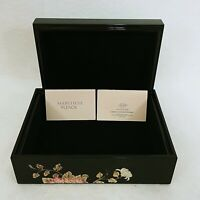 Lenox Jewelry Box Marchesa Painted Camellia Vintage Florals Separate Lid
