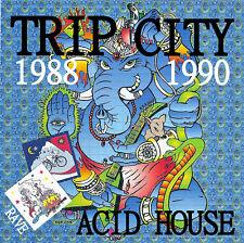 RAVE  ACID HOUSE 2 DISC CD SET  OLD SKOOL  TRIP CITY