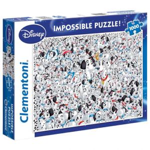 Clementoni Puzzle Disney 101 Dalmatians Impossible Puzzle 1000 pieces