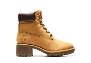 "Timberland Women's Kinsley 6"" Waterproof Boots. Color-Wheat Nubuck. Memory Foam."