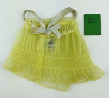Vintage 1959 Barbie Doll Sweet Dreams Outfit - Yellow/Gray Diary, Pajama Top