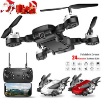 Foldable WIFI FPV RC Quadcopter Drone 1080P HD Camera Selfie Drone VR XMAS Gifts