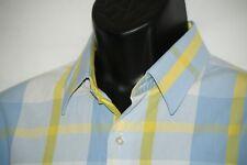Men's XMI shirt XL Plaid long sleeve flip cuff shirt