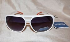 Reebok Double Bar Aviator Sunglasses Classic 3 Mens White