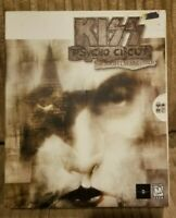 New Vintage Rare - Kiss Psycho Circus: PC Big Box Collectors Video Game - Sealed