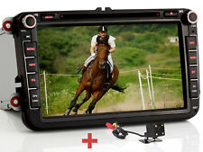 "Rûckfahrkamera+ 8"" Autoradio GPS DVD USB Für VW Golf Passat CC Jetta Polo Beetle"