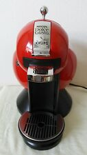 Red Krups Nescafe Dolce Gusto Coffee maker great working condition KP 2106